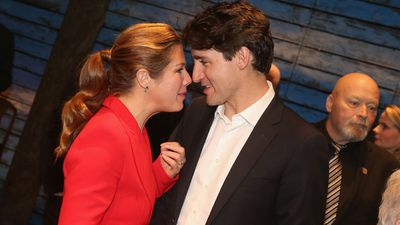 Justin Trudeau and wife Sophie are adorable together