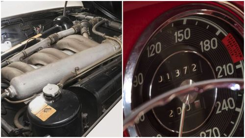 Despite being 55 years old, the car has only clocked 1372kms. Picture:  Artcurial