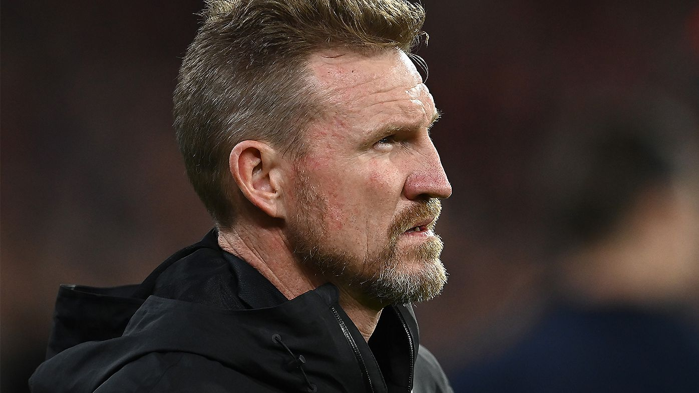 Collingwood given four-week window to make call on Nathan Buckley's future as coach