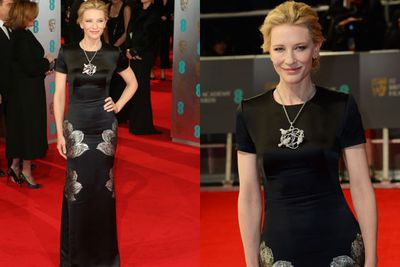 Cate Blanchett is simple but stylish on the red carpet.