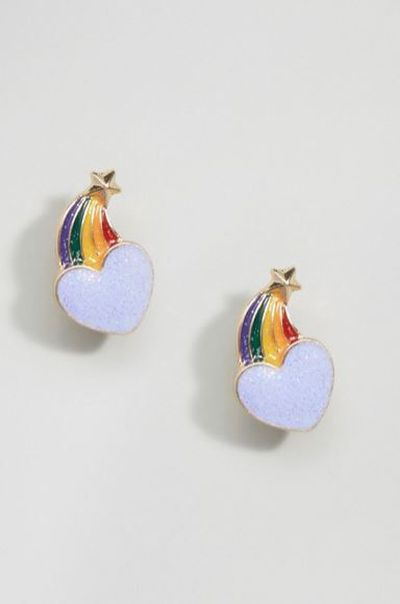 "<a href=""http://www.asos.com/au/asos/asos-rainbow-heart-star-stud-earrings/prd/7823318?iid=7823318&amp;clr=Multi&amp;SearchQuery=rainbow&amp;pgesize=36&amp;pge=1&amp;totalstyles=157&amp;gridsize=3&amp;gridrow=7&amp;gridcolumn=1"" target=""_blank"" draggable=""false"">Asos</a> rainbow heart stud earrings $10<br>"