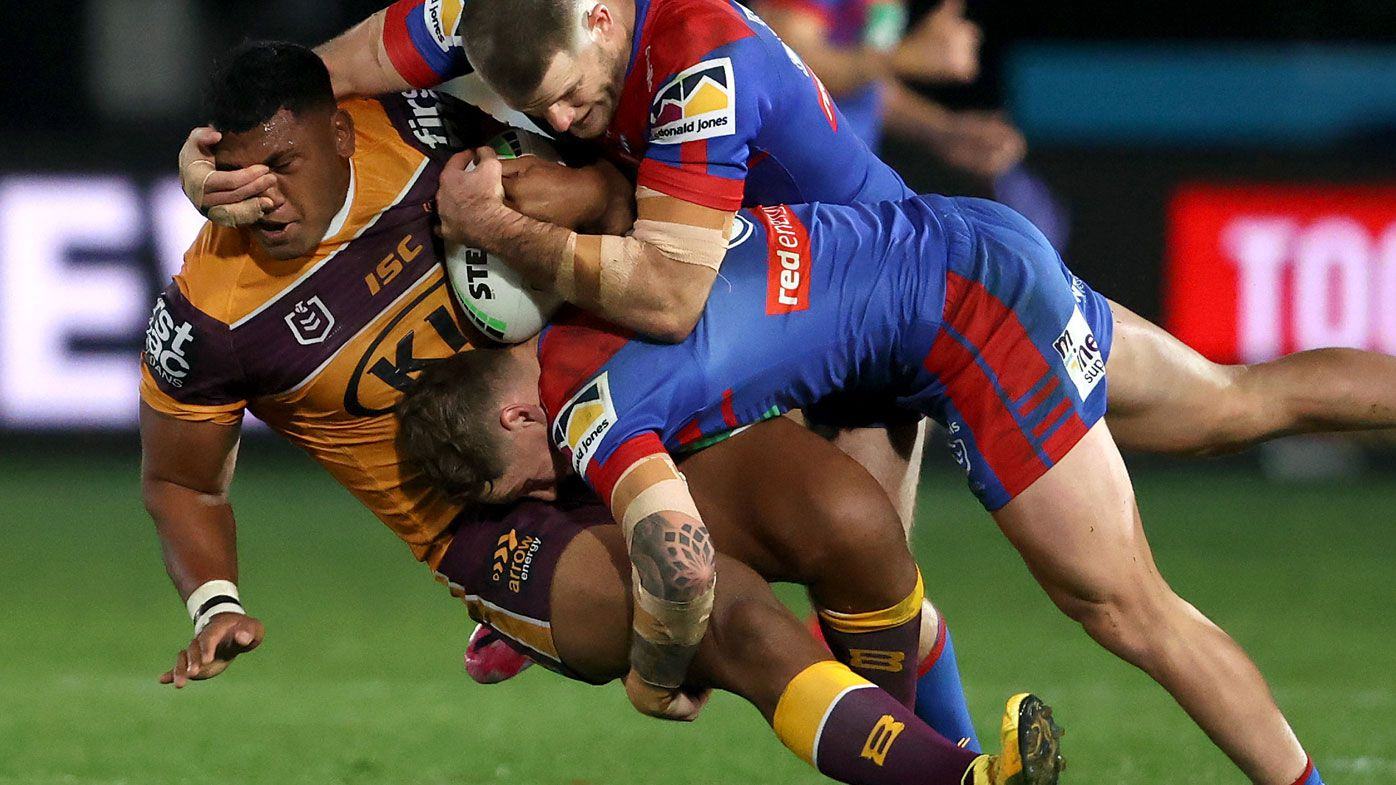 'Would have been better off if he didn't play': Broncos' Tevita Pangai Junior fails to impress upon suspension return