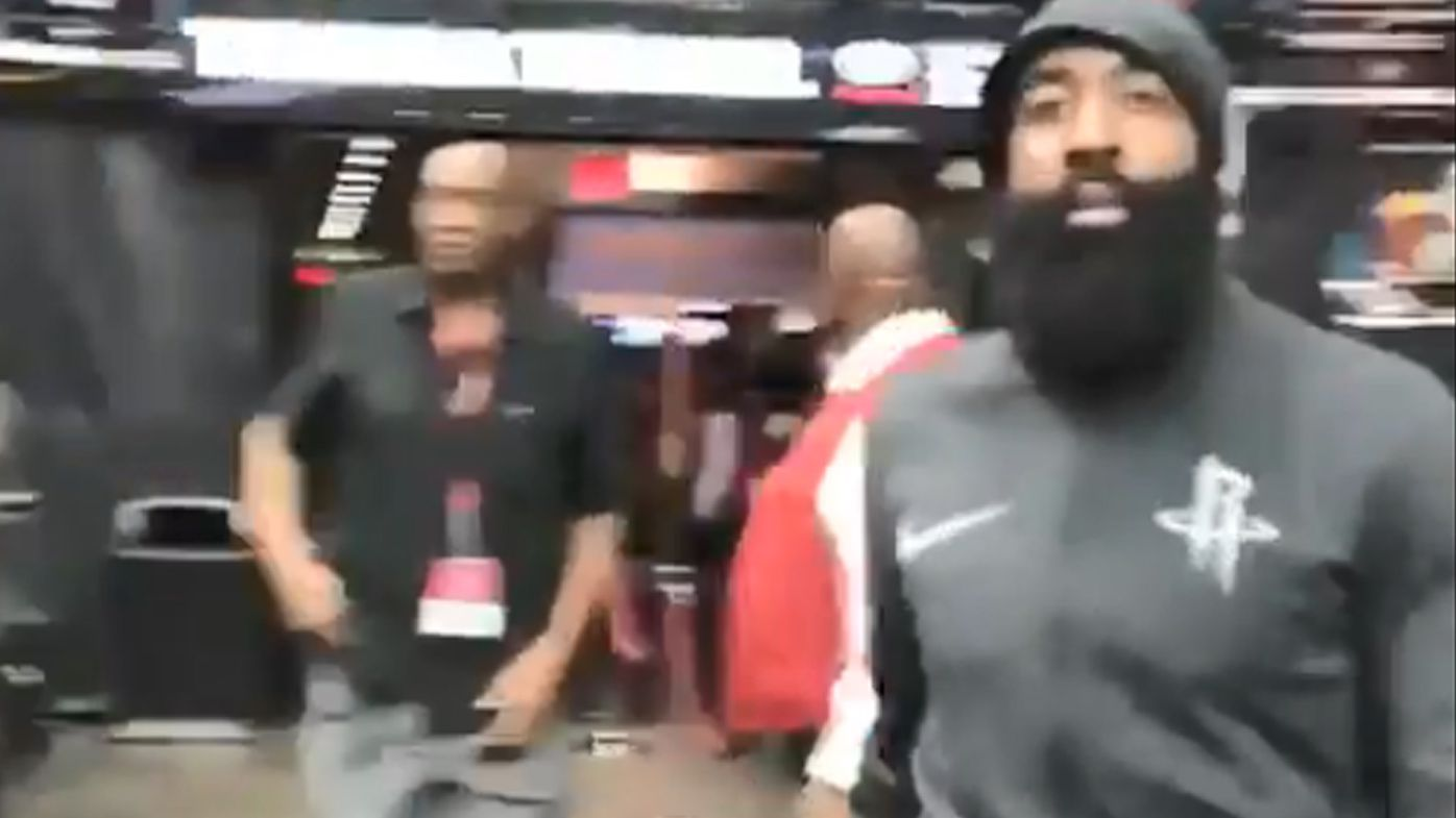 NBA Playoffs: Houston Rockets star James Harden lashes out at Utah Jazz fan after 'worst flopper' jibe