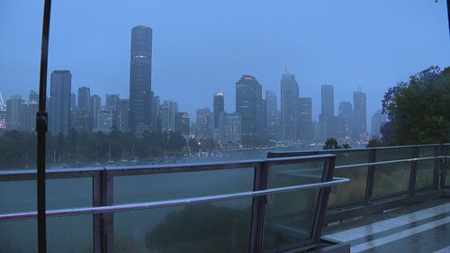 Brisbane is seeing storms and rain with more to come.