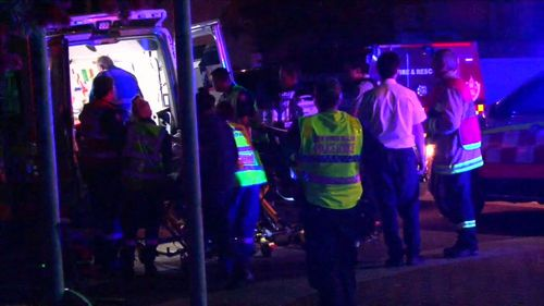 The man who suffered burns is fighting for his life in hospital (9NEWS)