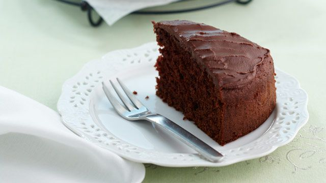 Luscious light chocolate cake