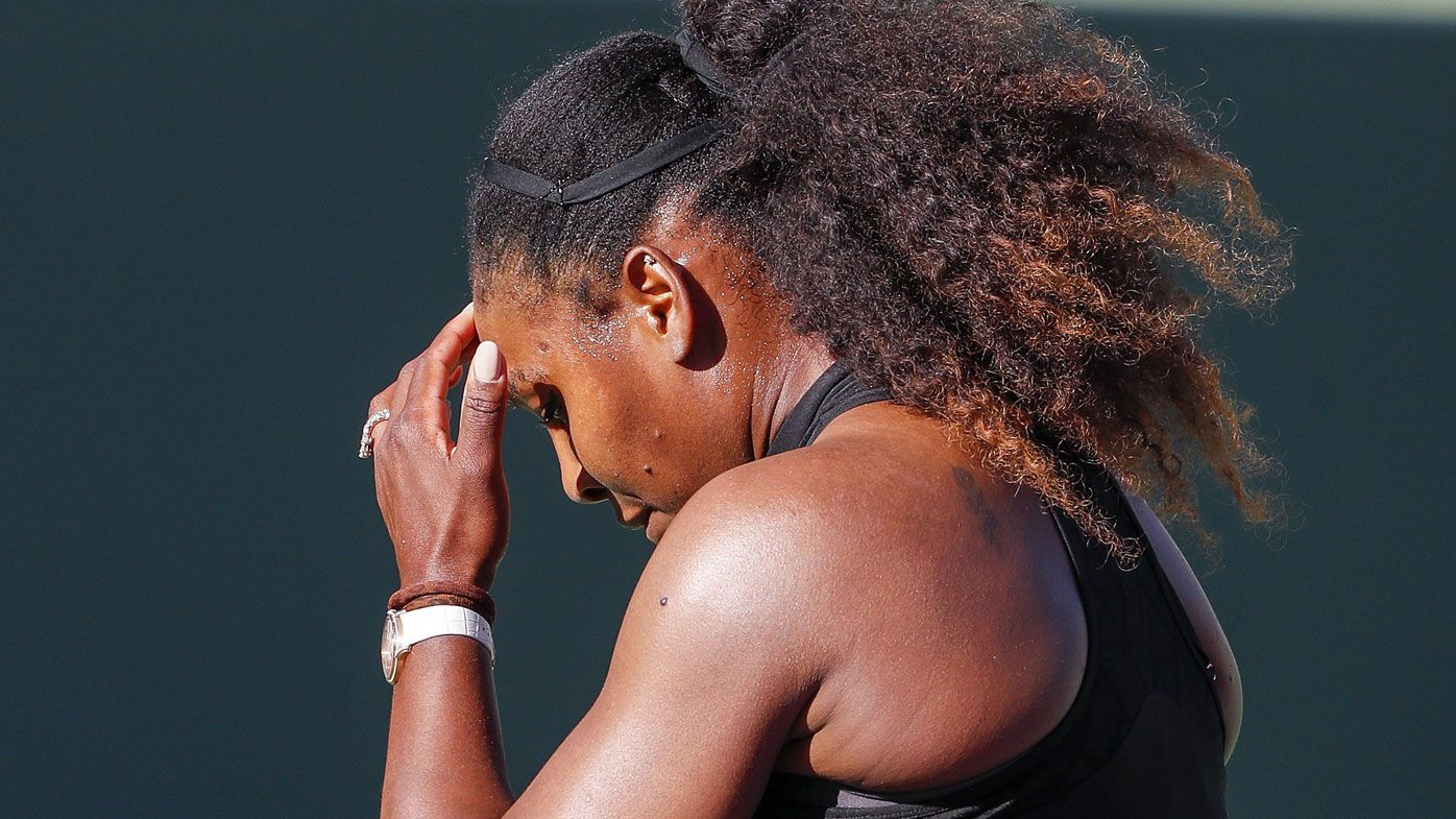 Serena Williams fuming after first round loss at Miami Open