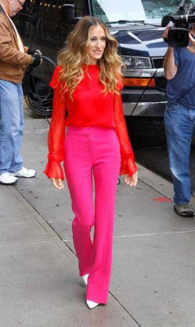 Actress Sarah Jessica Parker in Manhattan, New York City.