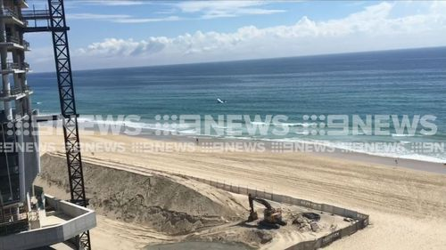 """The engine decided to go on holidays, so (I decided to) just forward the stick a bit like a normal landing, like anywhere, and just land on the beach."" (9NEWS)"