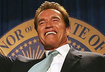 Daily Quiz: Arnold Schwarzenegger was the governor of which US state?