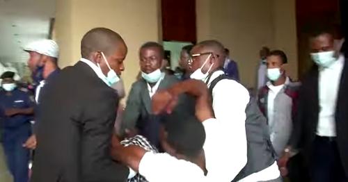 Congo parliament fight
