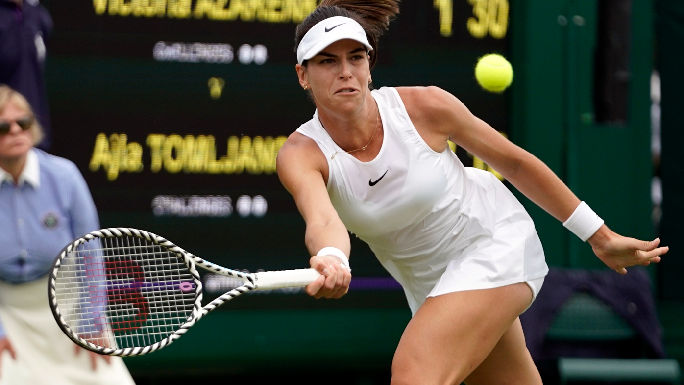 Victoria Azarenka ousts Ajla Tomljanovic from Wimbledon in second round