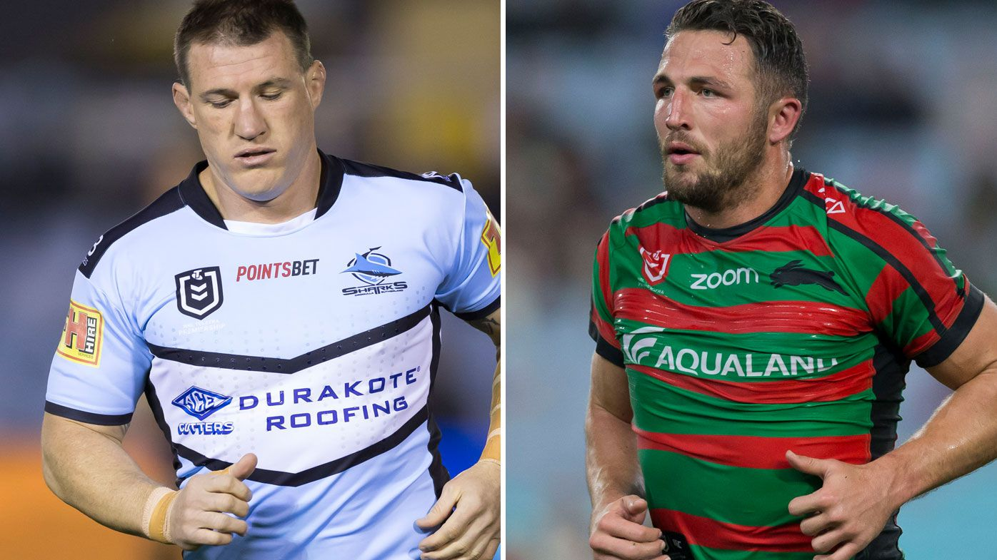 Paul Gallen and Sam Burgess