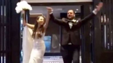 A bride and her family are among a group of people fined for leaving the Northern Beaches lockdown for a wedding near Sydney's CBD.
