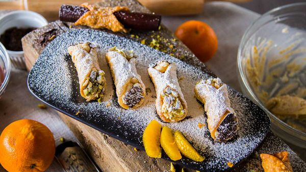 The Pluchinotta's Homemade Ricotta Cannoli