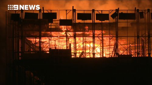 The building is currently under construction. (9NEWS)