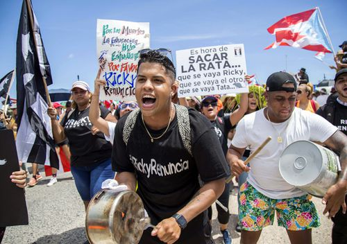 The leak has intensified long-smoldering anger in the US territory over persistent corruption and mismanagement by the island's two main political parties, a severe debt crisis, a sickly economy and a slow recovery from Maria, which devastated Puerto Rico in September 2017.