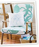 make it: revamped arm chair