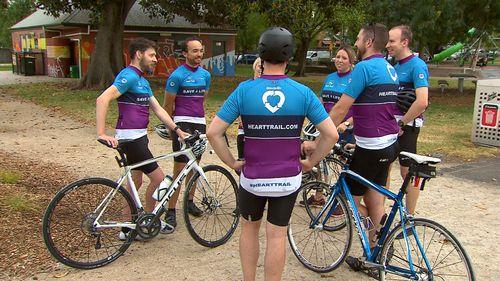 Silo Art Trail Victoria heart transplant organ donation ride
