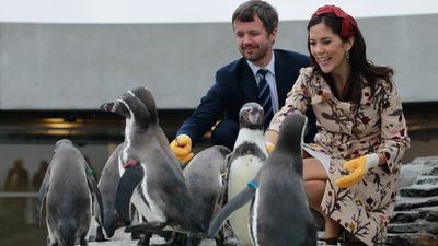 Princess Mary and Prince Frederik, September 2010