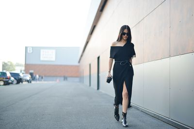 Give a woman a little black dress and she can truly go anywhere. From work and play to everything in between, a black dress is your wardrobe's lifeline. With shifts, asymmetrical silhouettes and slinky fabrics in this season's crop, the LBD's appeal is as timeless as ever. We've rounded up 20 styles that will fit seamlessly into your wardrobe and your life.