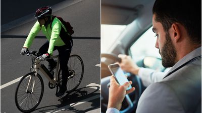 Cycling group wants to block you from using phones in the car