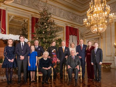 Belgian royals extended family photo