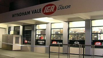 Woman's hand slashed in IGA robbery