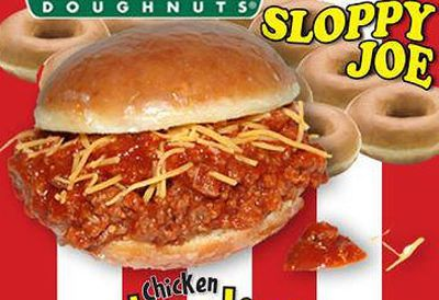 Krispy Kreme Sloppy Joe