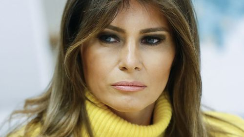 First Lady Melania Trump's spokesperson described the story as speculation, and as salacious.
