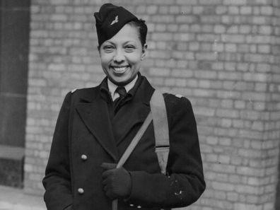 Josephine Baker in London in 1945