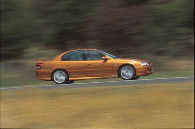 Holden HSV Clubsport Comodoore De La Rue shot 22/12/99.
