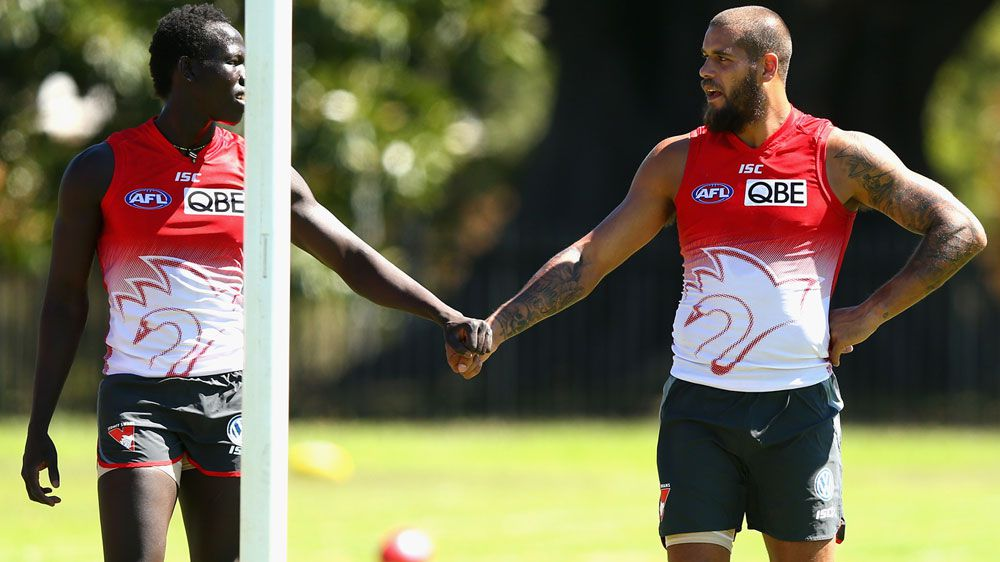 Former refugee to make Swans AFL debut
