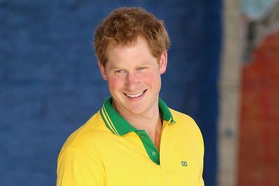 He may be a few places down on <i>People</i>'s list, but the cheeky royal takes the Hottest Ginge Alive crown!<br/><br/>Pic: Getty