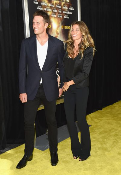 Gisele Bundchen and Tom Brady in September 2016 at the premiere of  National Geographic's <em>Years Of Living Dangerously</em>&nbsp;In New York.