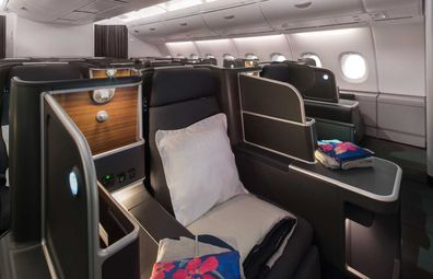 Qantas upgraded Airbus A380 aircraft Business Suites