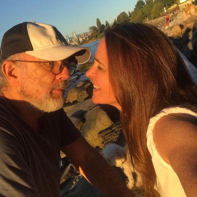 Richard Schiff and wife Sheila Kelley.