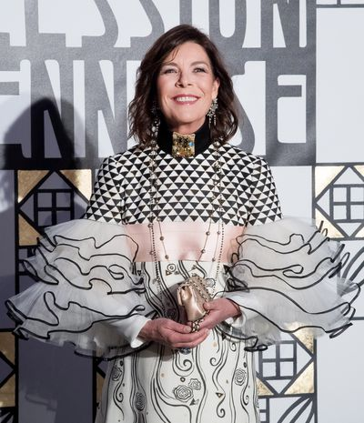 <p>Princess Caroline of Hanover, 60, the Monaco-residing daughter of Grace Kelly has been friends with Karl Lagerfeld since her teenage years. Some Chanel fairy dust has well and truly rubbed off.</p>