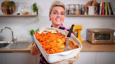 Jane de Graaff's sweet potato topped shepherd's pie