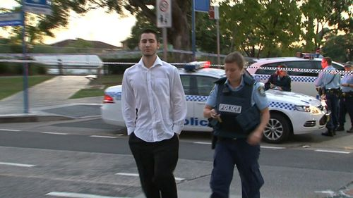 The man was bound and gagged for an hour before a security guard found him. (9NEWS)