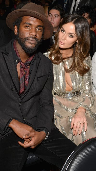 <strong>The muso and the muse<br>Gary Clark Jr. and Nicole Trunfio</strong>