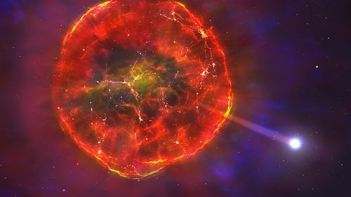 A supernova explodes, with dire consequences for its retinue of planets.