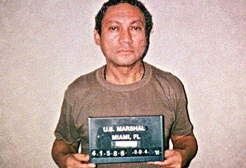 Manuel Noriega's mugshot. (AFP)