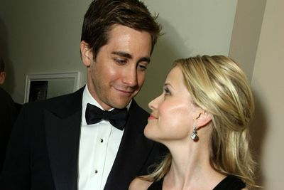 In 2007, on board Lufthansa airlines in first class (of course!), Jake and Reese reportedly got frisky mid-flight and did the nasty in a plane bathroom.<br/><br/>(Image: Getty)