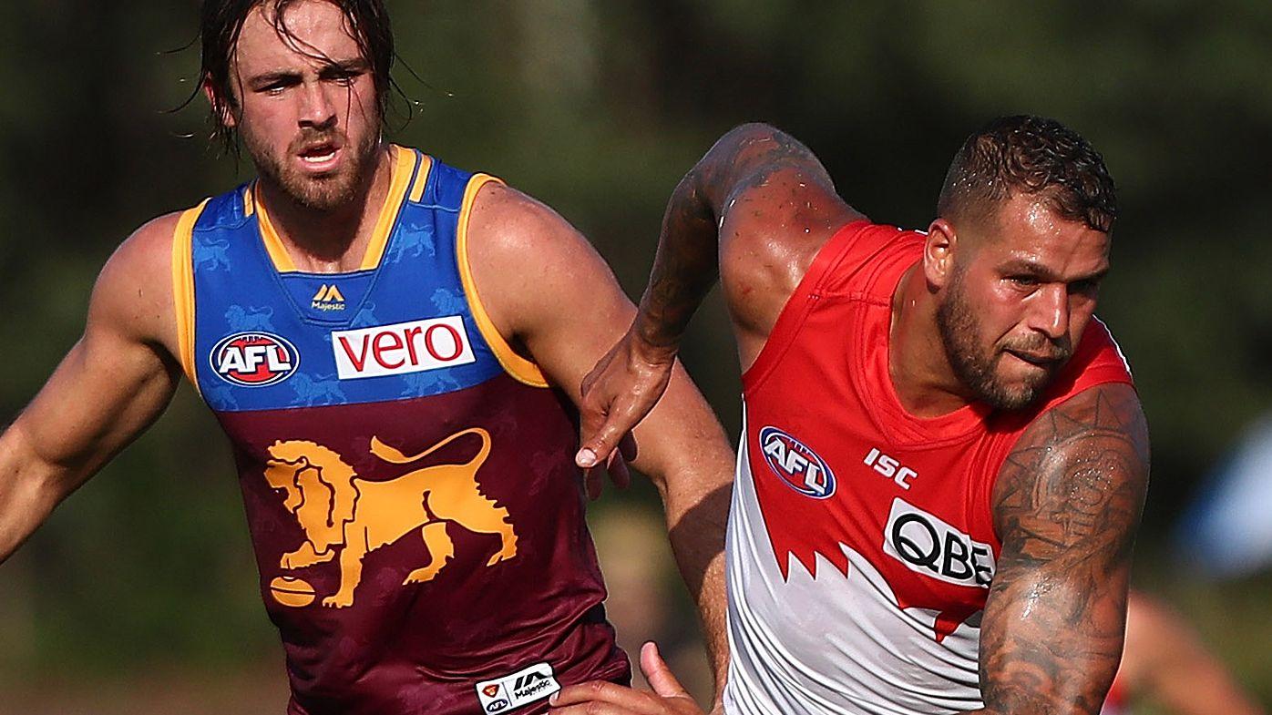 AFL: Buddy Franklin kicks four goals as Sydney Swans thump Brisbane