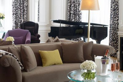 Grand Piano Suite, Claridge's London by Diane von Furstenberg