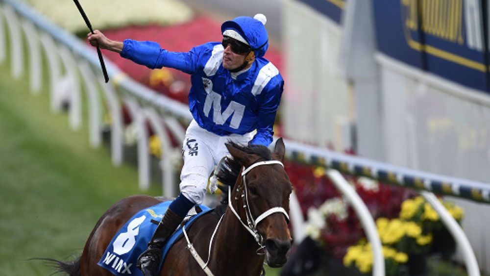Despite paying $1.10, punters only want to back Winx in the Chipping Norton. (AAP)
