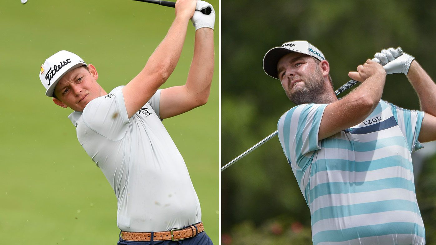Cam Smith (left) and Marc Leishman will represent Australia at the World Cup of Golf.