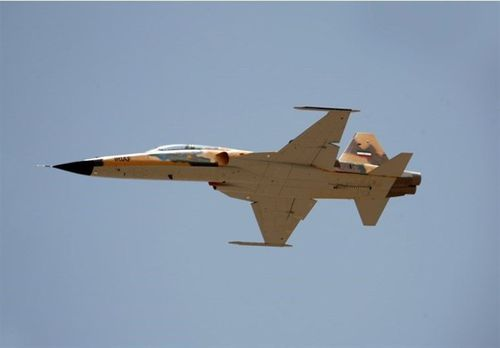 Iran's new fighter jet, named the Kowsar.