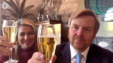 European royals in video message for Queen Margrethe - Queen Maxima King Willem-Alexander